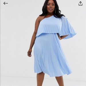 ASOS Pleated Dress